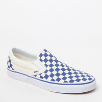 Primary Classic Slip-On Blue & White Shoes
