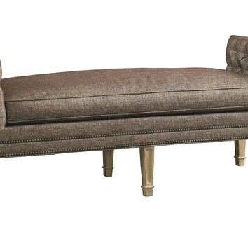 """Braswell 61"""" Tufted Daybed, Taupe, Daybeds"""