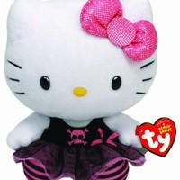 Ty Beanie Babies Hello Kitty Plush, Punk:Amazon:Toys & Games