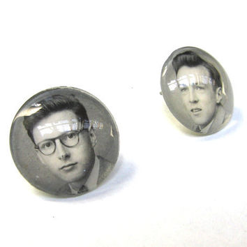 Yearbook Yourself CUSTOM Earrings Made Using YOUR by SovereignSea