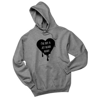 "5SOS 5 Seconds of Summer ""I've Got a Jet Black Heart"" Hoodie Sweatshirt"