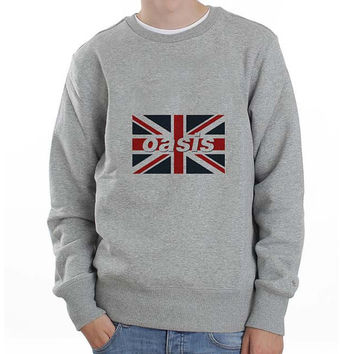 oasis sweater Sweatshirt Crewneck Men or Women Unisex Size