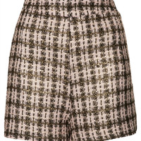 **Jules Tweed High Waisted Shorts by Jovonnista - Clothing Brands  - Clothing