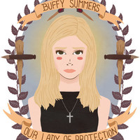 Buffy Summers Art Print by Heymonster | Society6