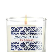 London Calling - tea & lemon 4 oz. Small Candle with Limited Edition Box   - Slatkin & Co. - Bath & Body Works