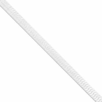 925 Sterling Silver 7mm Magic Herringbone Chain Necklace