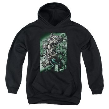 Superman - Doomsday Destruction Youth Pull Over Hoodie