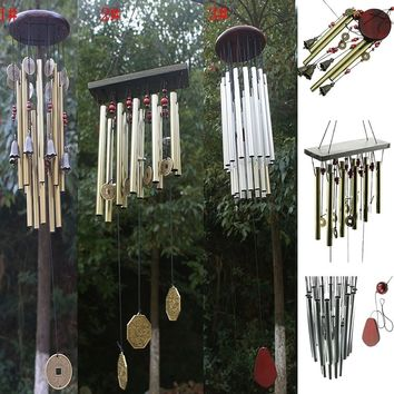 Amazing Church Wind Chimes Outdoor Yard Bells Garden Hanging Decorations Gifts  BIG
