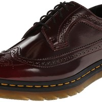 Dr. Martens Women's 3989 Brogue Wingtip Shoe