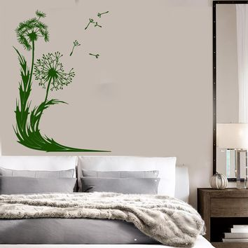 Vinyl Wall Decal Dandelions Florist Garden Room Decoration Art Stickers Unique Gift (ig3370)