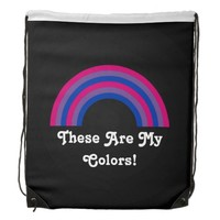 Bisexuality rainbow pride Backpack
