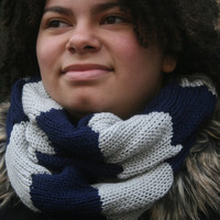 Womens Knitted Infinity Scarf, Light Circular Scarf, Gift for Her, READY TO SHIP! Womens accessories