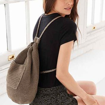 Ecote Moria Crochet Backpack