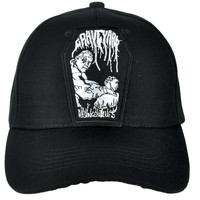 Graveyard Hat Baseball Cap Heavy Metal Clothing