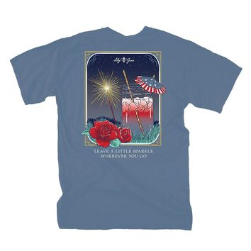 Leave a Little Sparkle Tee by Lily Grace