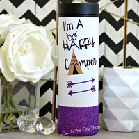 Happy Camper Travel Tumbler