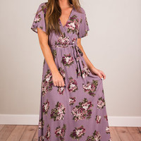 Fun In Motion Maxi Dress, Orchid