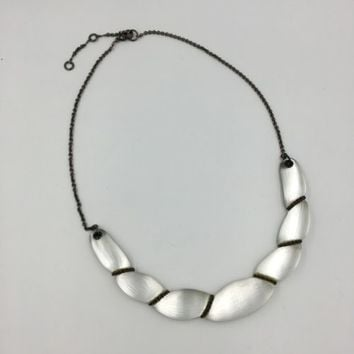 Alexis Bittar Lucite Choker Collar Necklace