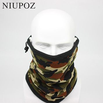 2017 New Fashion Winter Camouflage Bandana Headband Scarf Men Moto Ski Head Scarf Multifunctional Seamless Tubular Unisex Warm