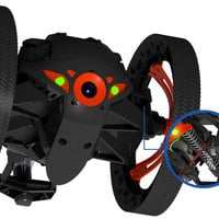 Parrot MiniDrone Jumping Sumo, Jump and roll anywhere!