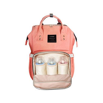 Multi-Function Diaper- Waterproof Travel Backpack for Baby Care, Large Capacity, Stylish and Durable