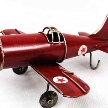 Handmade Antique Tin Model Airplane-B2 Bomber