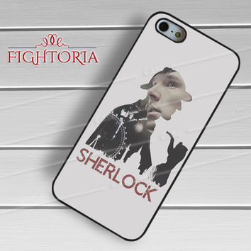 SHERLOCK the detective-11nya for iPhone 6S case, iPhone 5s case, iPhone 6 case, iPhone 4S, Samsung S6 Edge