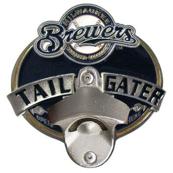 Milwaukee Brewers Tailgater Hitch Cover Class III