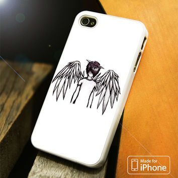 emo angel by lovehurts iPhone 4(S),5(S),5C,SE,6(S),6(S) Plus Case