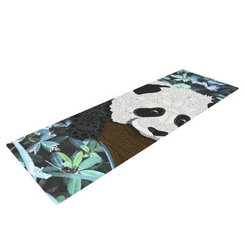 "Art Love Passion ""Panda"" Black White Yoga Mat"
