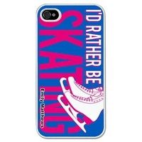 Personalized Figure Skating iPhone Case I'd Rather Figure Skating | Figure Skating iPhone Case | Figure Skating Galaxy S3 Phone Case
