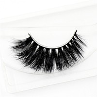 Mink Lashes 3D Mink Eyelashes Natural False Eyelashes 1 pair Handmade Fake Eye Lashes Extension for Beauty Makeup-A22