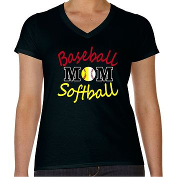 Baseball Softball Mom Shirt | Our T Shirt Shack
