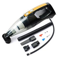Cars Blow-up Dry-wet Dual Purpose 4 In 1 Multi-functioned Portable Vacuum Cleaners [6534446343]