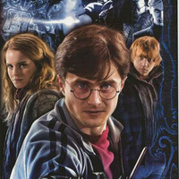 Harry Potter Deathly Hallows Cast 2010 Poster 22x34