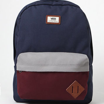 Vans Old Skool II Colorblock Navy Backpack at PacSun.com