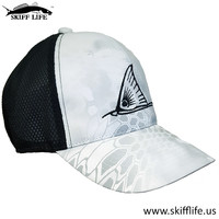 Trucker Hats White Camo Redfish Snook Fish