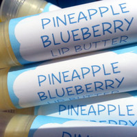 Pineapple Blueberry Lip Butter ~ Lip Balm