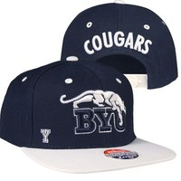 BYU Cougars Sideshow Snapback Hat at Fanzz.com