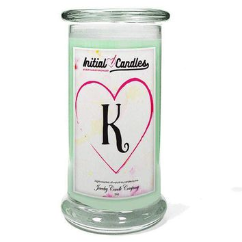 Letter K Initial Candles