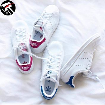 Authentic Adidas Stan Smith Colorful Casual Skateboard Men/Women Shoes