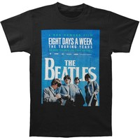 Beatles Men's  8 Days A Week T-shirt Black