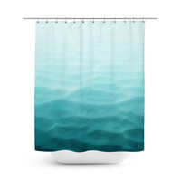 Prism Waters - Shower Curtain