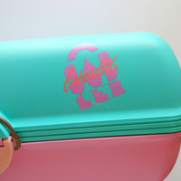 Vintage Caboodle Cosmetic Organizer 1980s