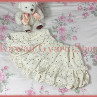 Liz Lisa Brushed Fleece Polka Dot Sukapan / Skirt-Pants from Kawaii Gyaru Shop