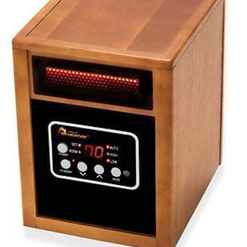 Portable Space Heater Infrared Electric Home Remote Guest Tower Bathroom Room