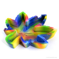 Tie Dye Leaf Ashtray on Sale for $7.99 at The Hippie Shop
