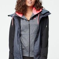 Volcom Stave Snow Jacket - Womens Sweaters - Black