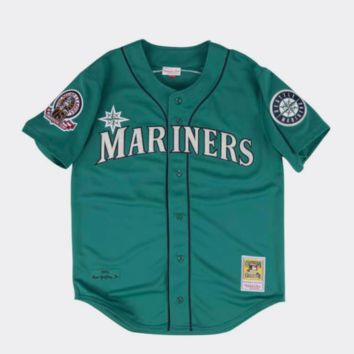 Mitchell & Ness Ken Griffey Jr. 1995 Authentic Seattle Mariners Jersey