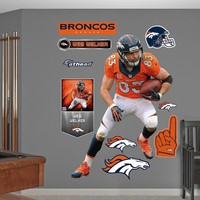 Denver Broncos Wes Welker Wall Decals by Fathead